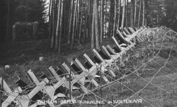 Lehký objekt vz. 37 v severních Čechách